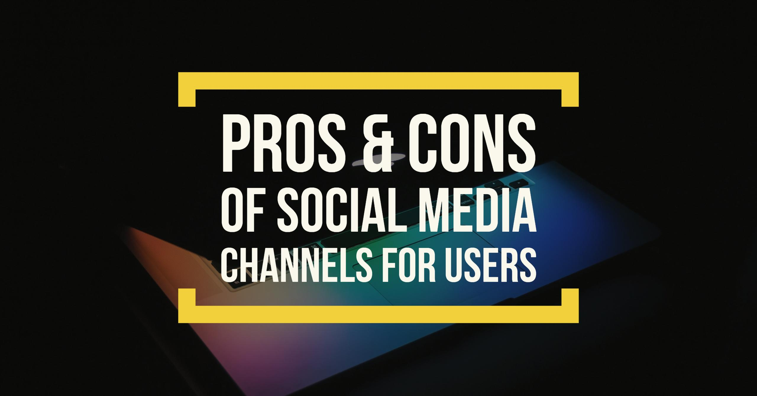 pros cons of imc channels Although integrated marketing communications requires a lot of effort it delivers many benefits it can create competitive advantage, boost sales and profits, while saving money, time and stress.