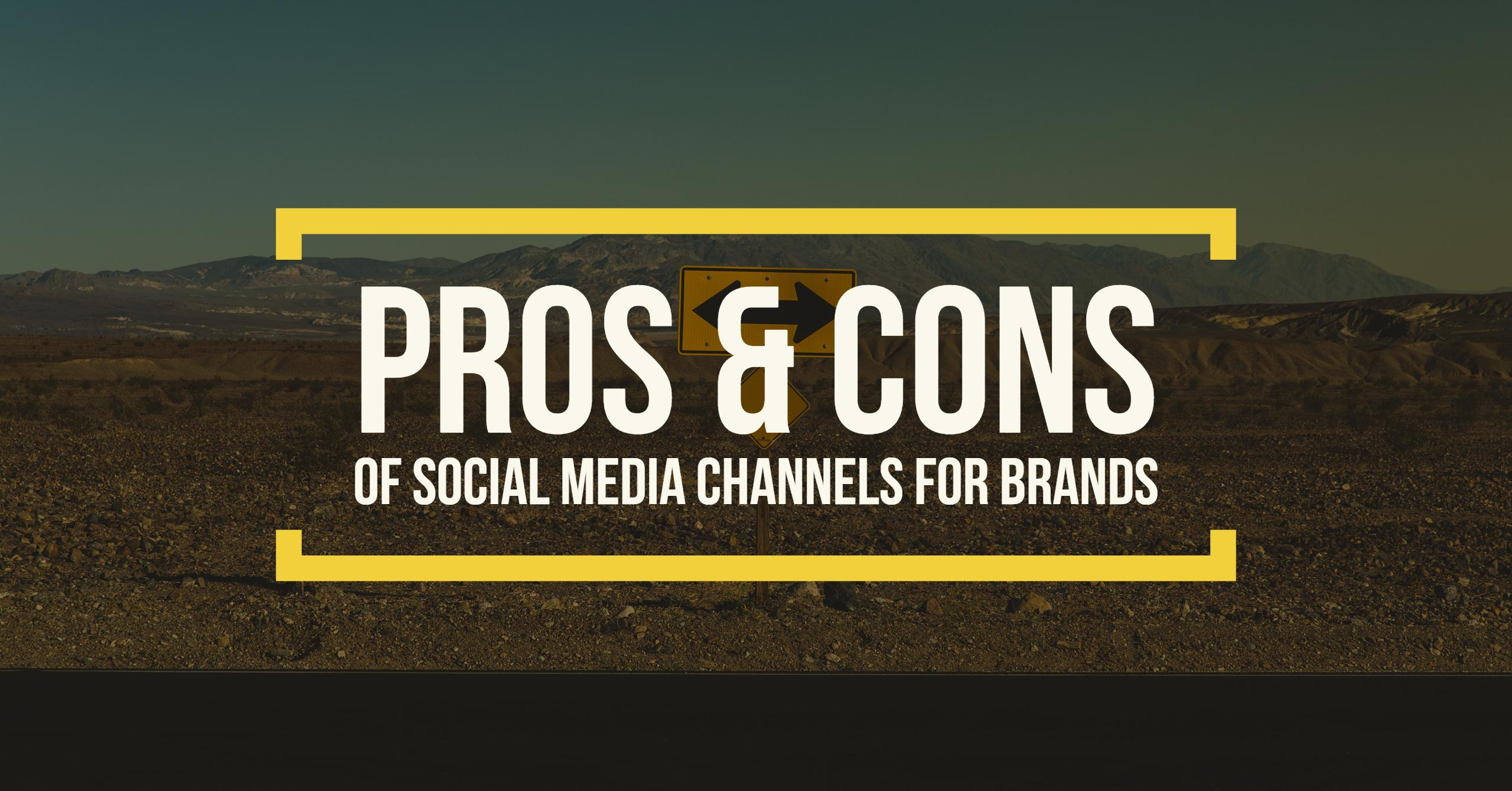 Social Media Channels for Brands